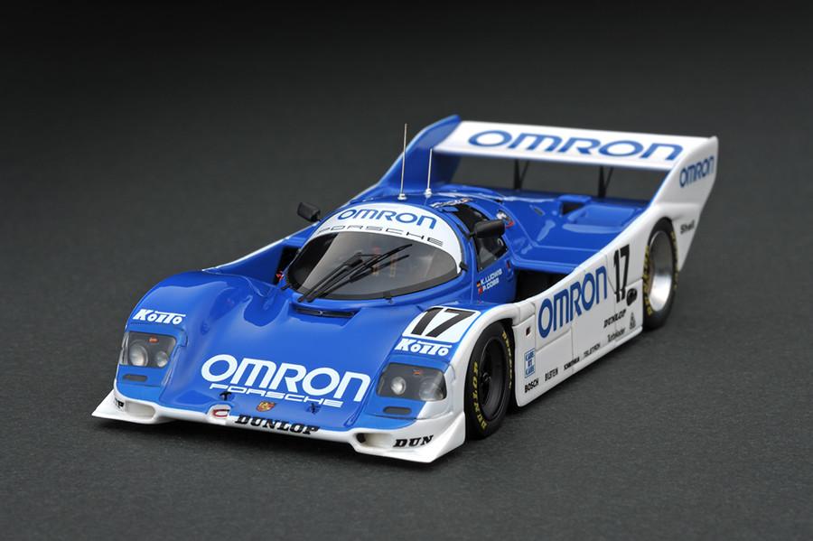 IG0523 1/43 OMRON Porsche 962C...